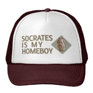 Socrates is my Homeboy Cap