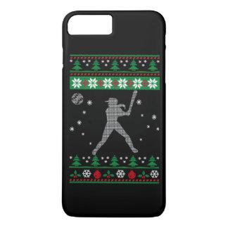 Softball Christmas iPhone 7 Plus Case