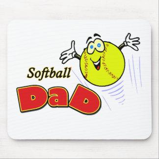 Softball Dad Mouse Pad