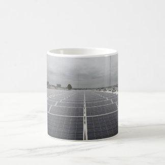Solar Panel Field Basic White Mug