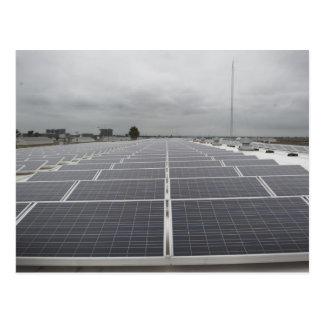 Solar Panel Field Postcard
