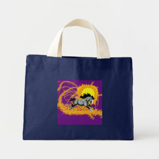 Solar Storm Stallion Mini Tote Bag