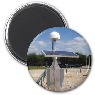 Solar Technology 6 Cm Round Magnet