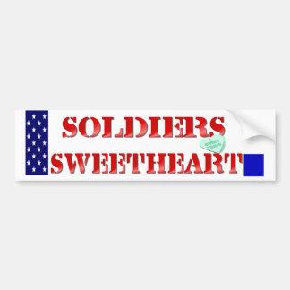Soldiers Sweetheart Bumper Sticker