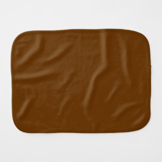 Solid Brown Burp Cloths