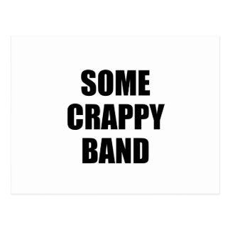 Some Crappy Band Postcard
