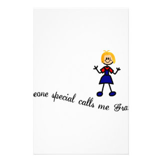 Someone Special Customized Stationery