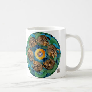 Somersaulting Universe (Cosmic Cats) Mug