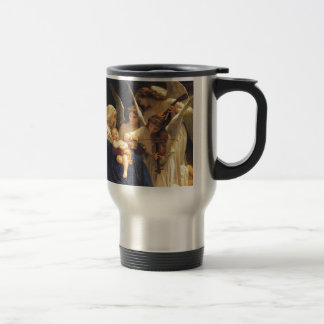 Song of the Angels, William-Adolphe Bouguereau Stainless Steel Travel Mug