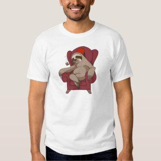Sophisticated Three Toed Sloth Tee Shirt