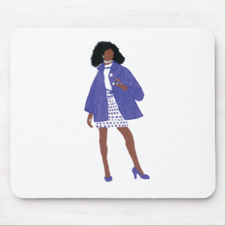 Sorority Diva - Zeta Mouse Pad
