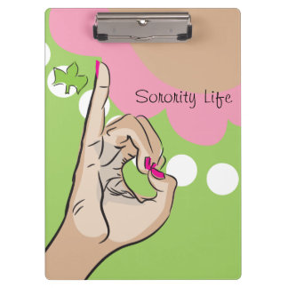 Sorority Life Clip Board Clipboard