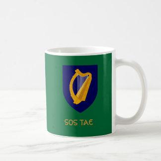 Sos Tae - Tea Break in Irish Gaelic Basic White Mug