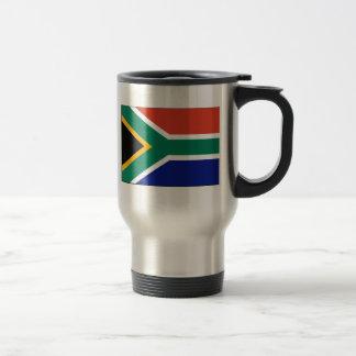 South Africa FLAG International Stainless Steel Travel Mug