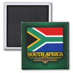 South Africa Pride Square Magnet