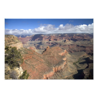 South Rim view of the Grand Canyon, Arizona, Photo Print