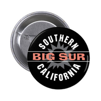 Southern California - Big Sur 6 Cm Round Badge