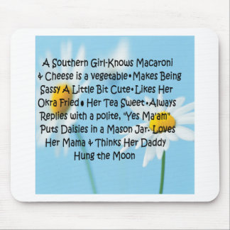 Southern Girl Mouse Pad