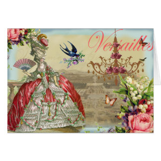 Souvenirs de Versailles Greeting Card