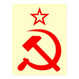 Soviet 2 postcard
