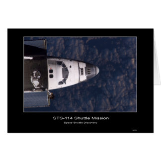 Space Shuttle Discovery – STS-114 Shuttle Mission  Greeting Card