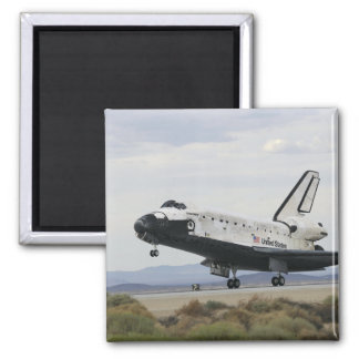 Space Shuttle Discovery's main landing gear Square Magnet