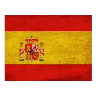 Spain Flag Postcard