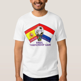Spain vs. Netherlands final Soccer 2010 T-Shirt