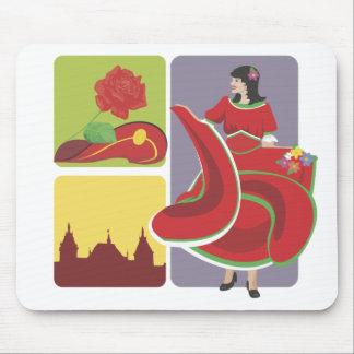 Spanish Flamenco Mouse Pad