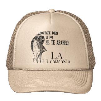 Spanish La LLorona Cap
