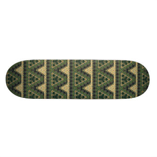 Spanish Moss Abstract Skate Board