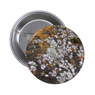 Spanish Moss & Granite 6 Cm Round Badge