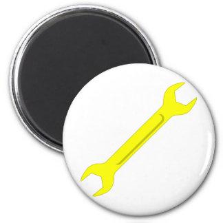 spanner 6 cm round magnet