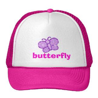 sparkle, butterfly cap