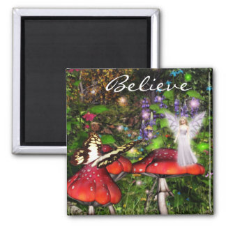 Sparkle fairy forest Magnet