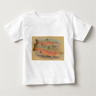 Spawning trout tshirt
