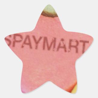 Spaymart Sweetheart Star Sticker