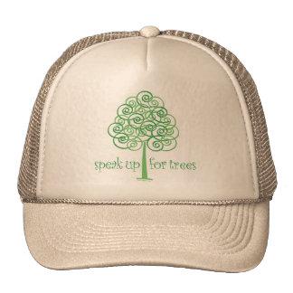 Speak Up for Trees - Tree Hugger Cap