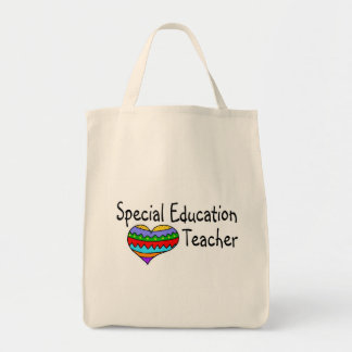 Special Education Teacher Grocery Tote Bag