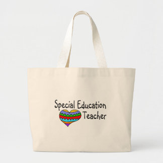 Special Education Teacher Jumbo Tote Bag