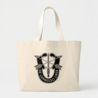 Special Forces Jumbo Tote Bag