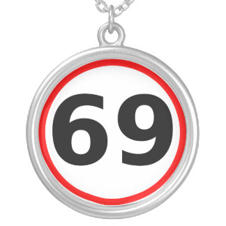 Speed Limit Necklace