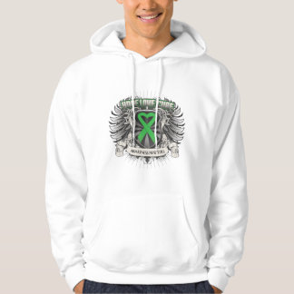 Spinal Cord Injury Hope Love Cure Hooded Pullovers