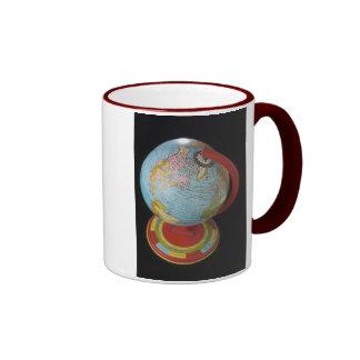 Spinning Globe Ringer Mug
