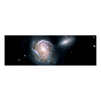 Spiral Galaxy NGC 4911 in the Coma Cluster Pack Of Skinny Business Cards