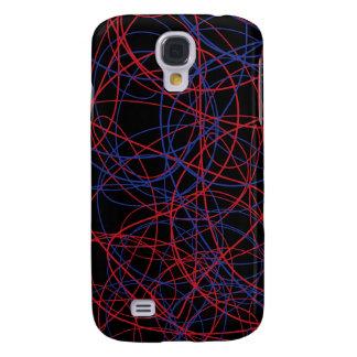 Spiral scribble fun case! galaxy s4 case