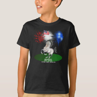 Spirit of the 4th of July Stallion Shirts