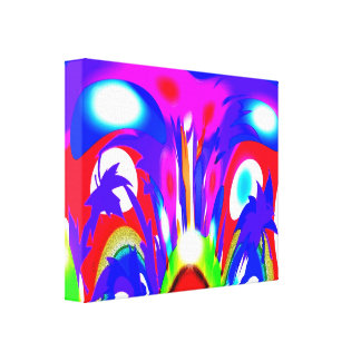 Spirits in the seasons gallery wrap canvas