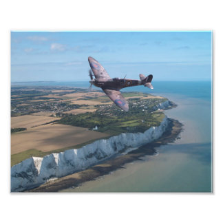 Spitfire over England Photograph