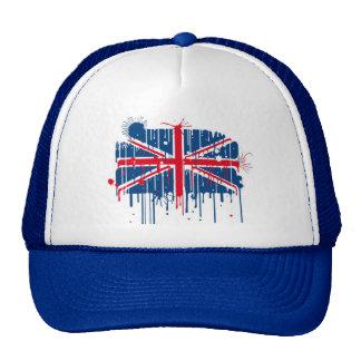Splatter Union Jack Flag Cap